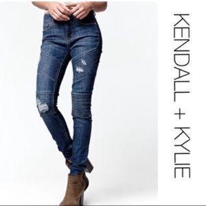 Kendal & Kylie Moto jeans size 28